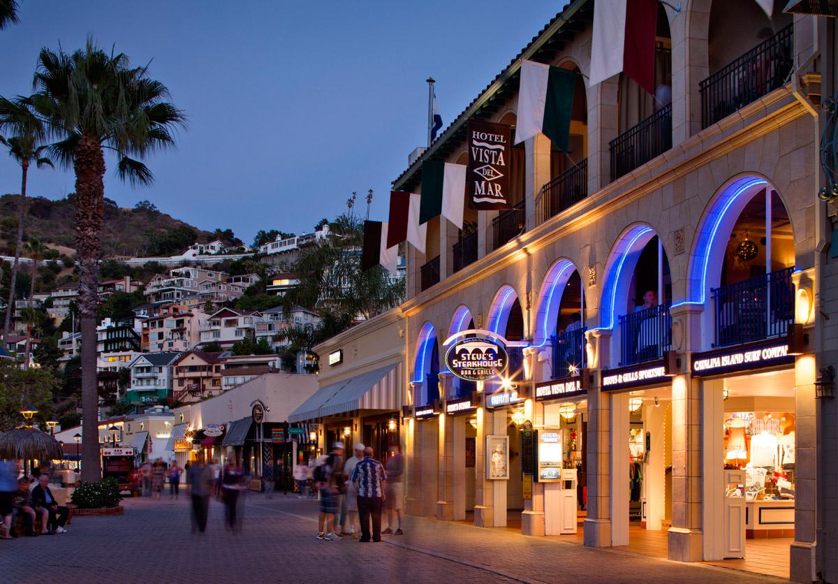 Night Avalon Bay - Catalina Island